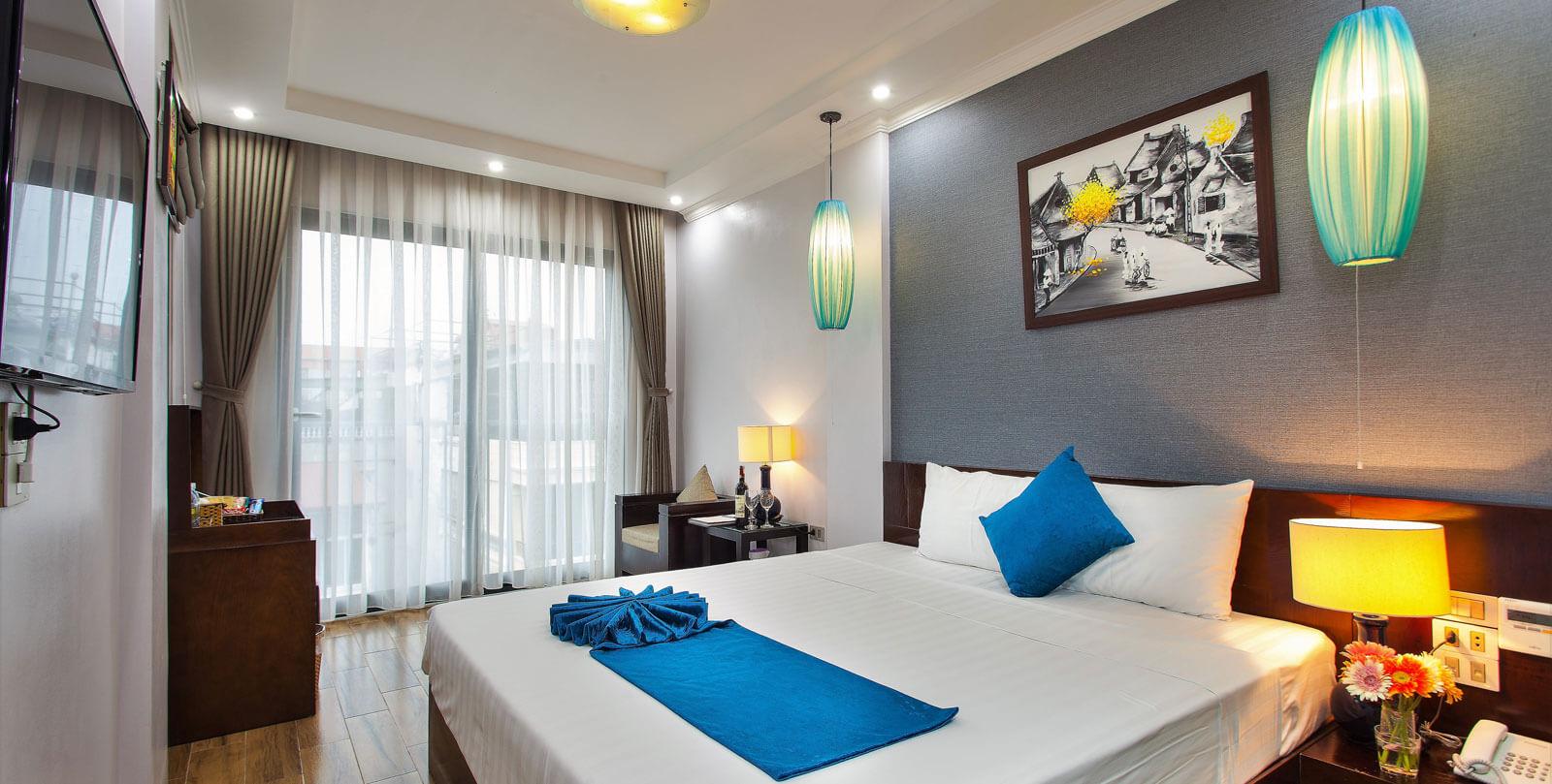 Hanoi Bella Rosa Suite Hotel <span>  RELAX IN COMFORT </span>